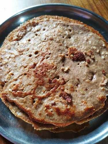 Eggless Protein Pancakes