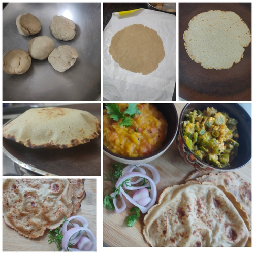 soya paneer chapati