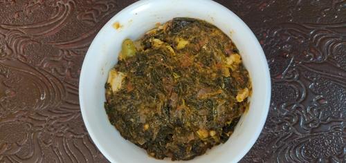 Sorrel leaves/Gongura Chicken
