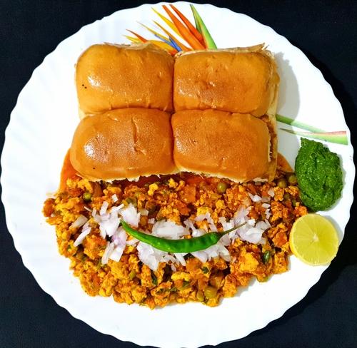 Chicken Keema Pav