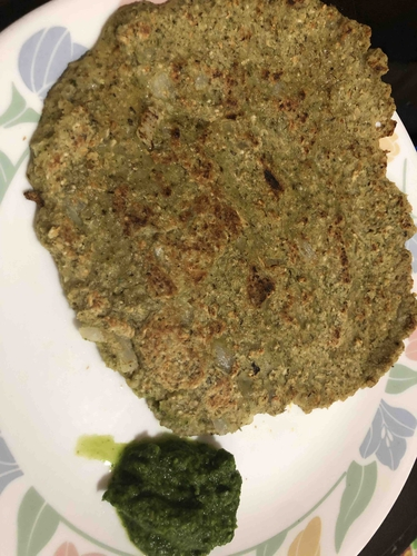 oats and green moong daal chilla