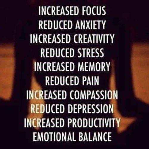 """10 Benefits of Meditation ""🧘♀️"