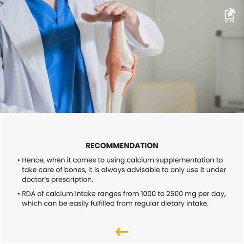 Calcium Supplementation: Is It Required?