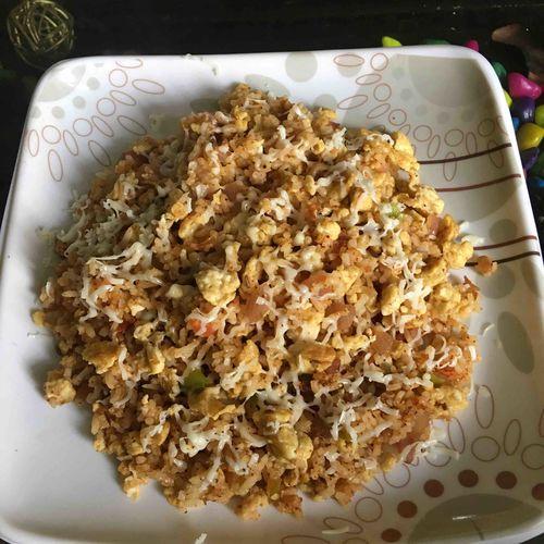 Cheesy Egg Rice