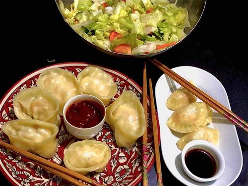 chicken dumplings (6-8)