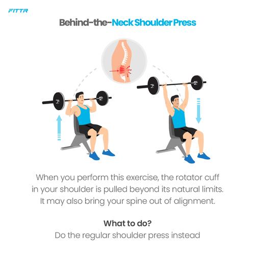 5 Injury- Prone Exercises To Avoid