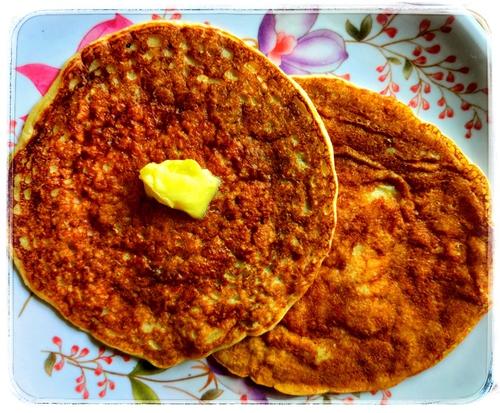 Soya Wheat Pan Cake