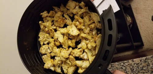 Roasted Cauliflower in Air fryer