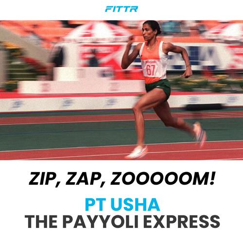 "Meet the""Payyoli Express"" - PT Usha"