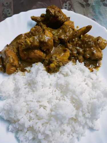 Chicken masala!