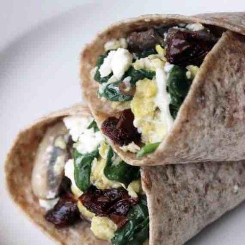Spinach Fetta Wrap