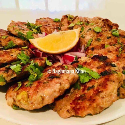 Chicken Chapli Kabab