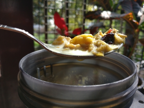 High protein Muesli breakfast