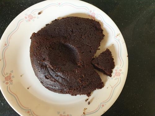 Keto Eggless Cake