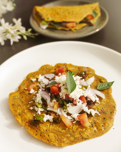 Taco Style Multigrain Cheela