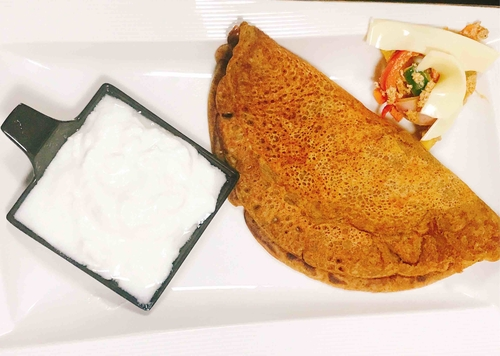 Tandoori Soya Cheela with stuffing