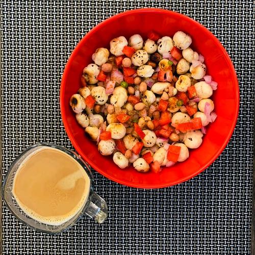 Makhana Peanuts Bhel