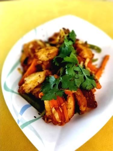 Vegetable Bread Dhokla