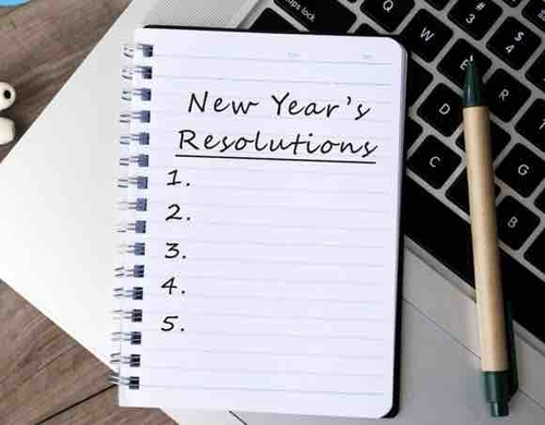 New Year, New Beginnings, Resolutions Planning