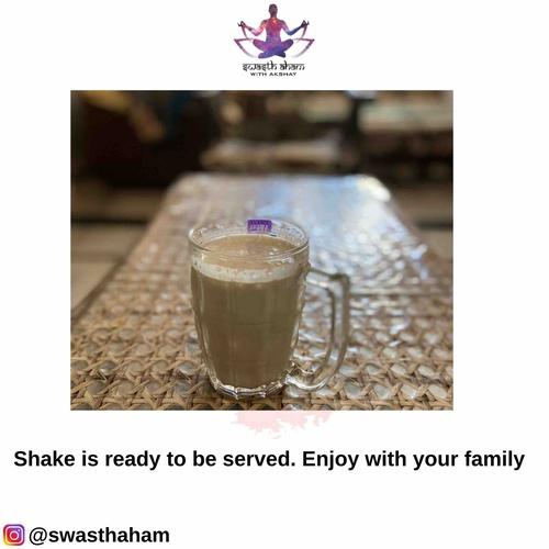 Dates Whey Protein Shake