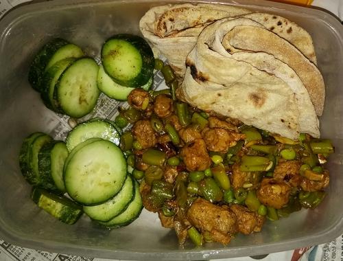 Soya Veggie Saute