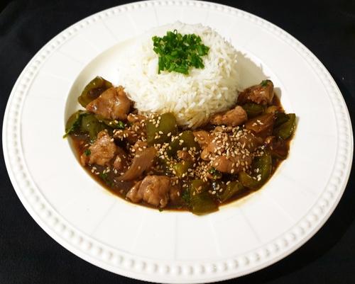 Chilli Chicken & Rice