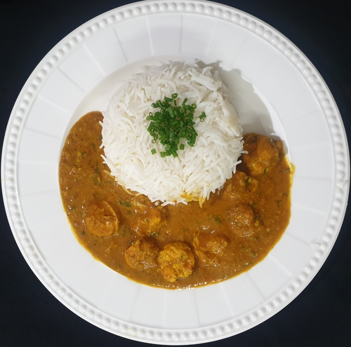 Prawn 🥥 Curry Rice
