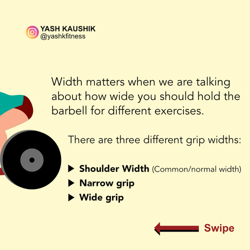Exercise Technique - Grip width! How wide should you hold the barbell?