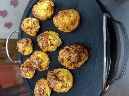 Cauliflower Tots/Minions