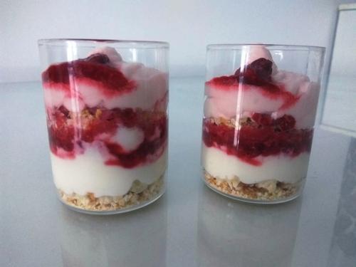 Raspberry Yoghurt Parfait