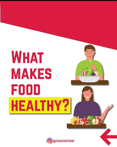 What makes food healthy?