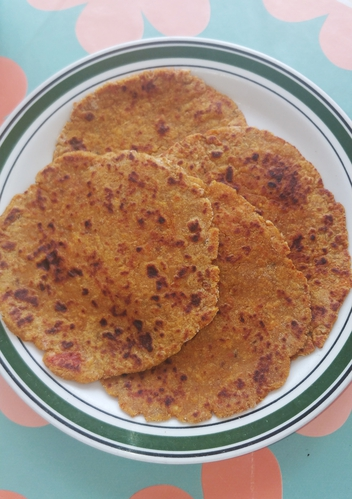 Soya Paneer Paratha My lazyy day recipe