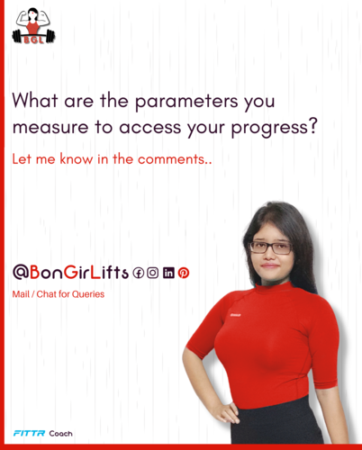 Parameters to measure your progress