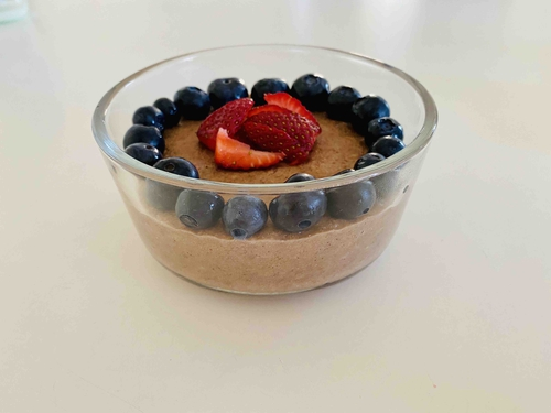 oats whey pudding