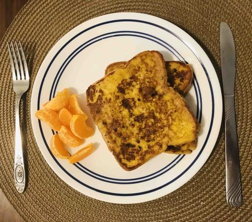 Turmeric French Toast