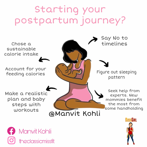 10 Step Startup Plan For Your Postpartum Journey!