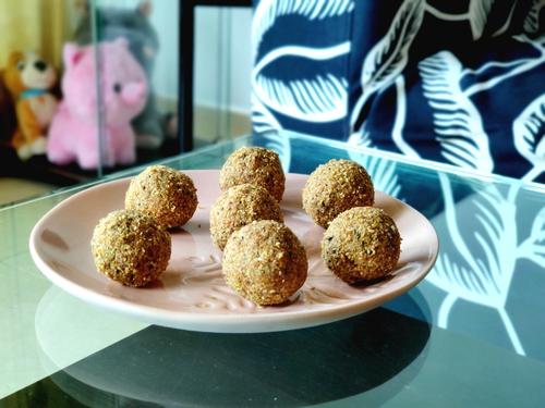 Nutrition filled Oats Laddoo