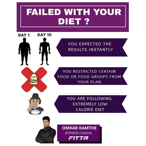 FAILED WITH YOUR DIET AGAIN ?