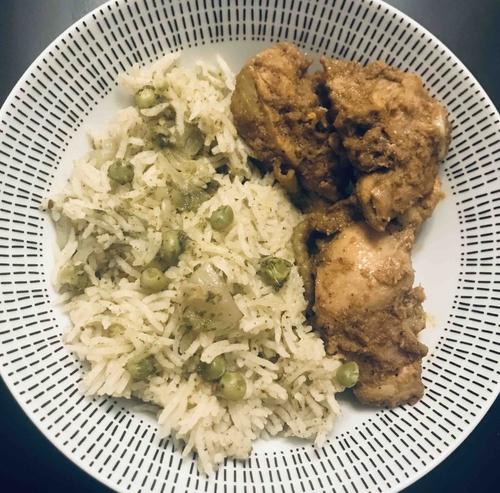 Peas Corriander Rice