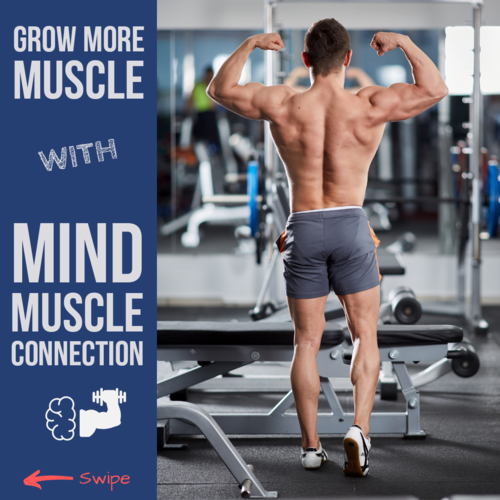 Grow more muscle with Mind Muscle Connection