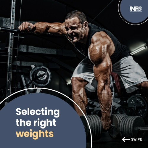 Selecting the right weights