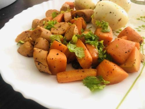 Egg Veg Sausage