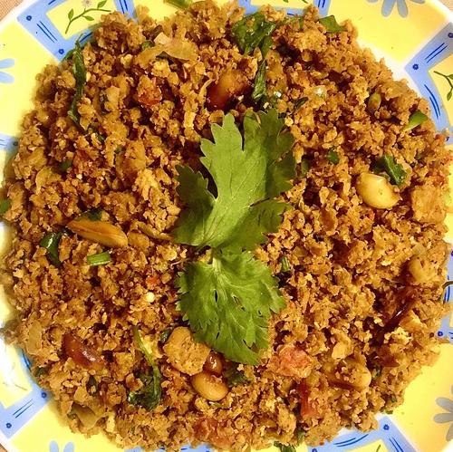 Soya Egg bhurji