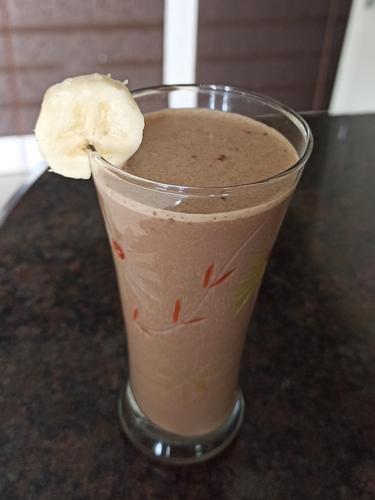 Whey Protein Banana Smoothie