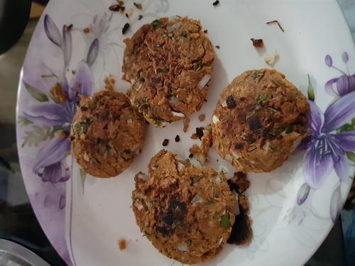 soya tikki/kabab