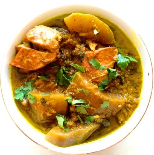 Chicken Bottle-gourd curry