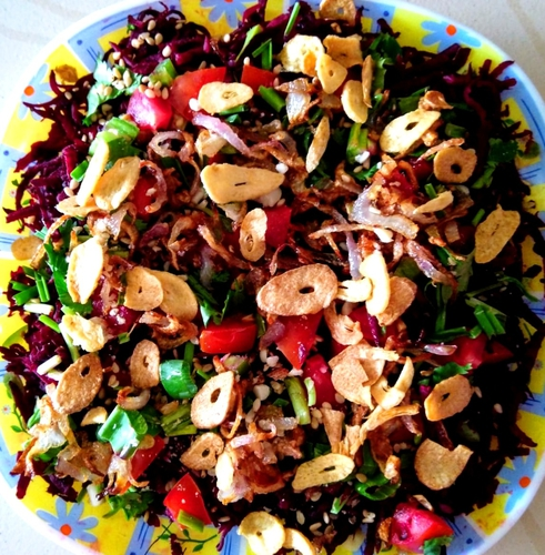 Crunchy Beetroot Salad