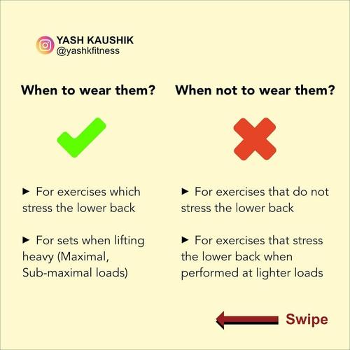 [PART - 5] Exercise Technique: Weight Lifting Belts When and Why to wear them?