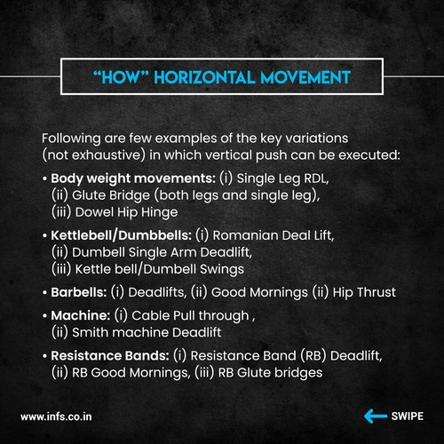 INFS WORKOUT DESIGN SERIES: HIP HINGE