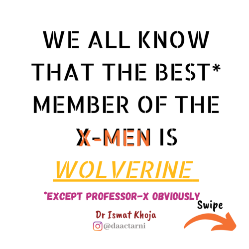YOU HAVE WOLVERINE SUPER POWER⁣!